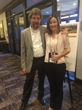 Alison Krompf Receives International Award