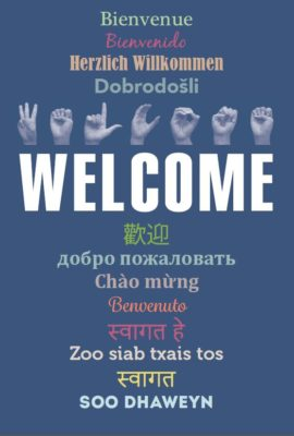 Welcome Signs Embrace Diversity