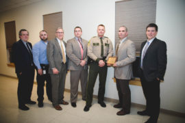 St. Albans barracks honored for collaborative work with Northwestern Counseling & Support Services