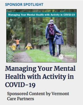 Managing Your Mental Health with Activity in COVID-19