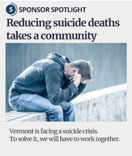 Reducing suicide deaths takes a community