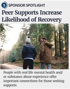 Taking Vermont's Mental Health Services One Step Further with Peer Supports