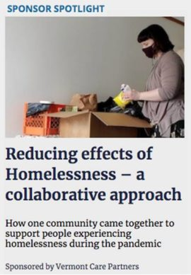 Reducing effects of Homelessness – a collaborative approach